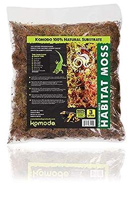 Komodo Habitat Moss, 1.5 Litre from Komodo