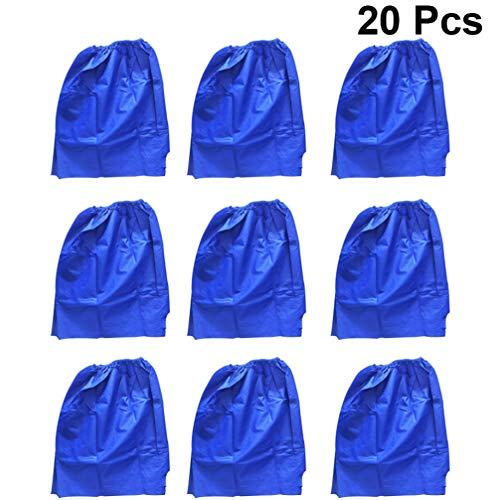 HEALLILY 20 Stück Einwegboxer Vlies Sauna Spa Unterwäsche Slips für Reisemassage Behandlungen Bräunungsservice (Standard Blau)