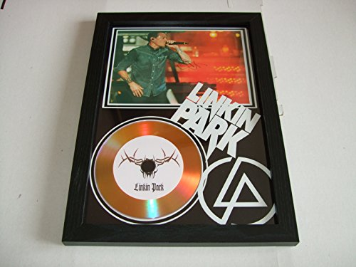 Linkin Park firmado Oro disco