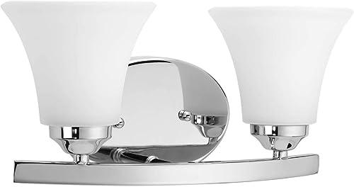 lowest Progress Lighting popular P2009-15 online sale Med Bath and Vanity Light, 2-100-watt online