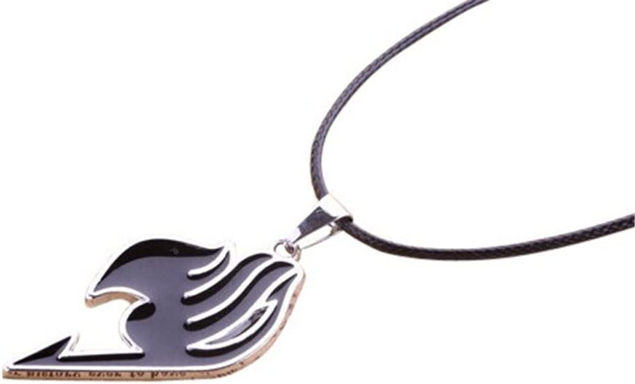 New Anime Fairy Tail Natsu Dragneel Guild Cosplay Red Pendant Necklace