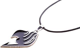 Fairy Tail Natsu Dragneel Gremio símbolo Collar con Colgante de Metal de Cobre