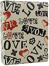 Álbum de fotos 10x15 Coração Love it p/ 500 fotografias