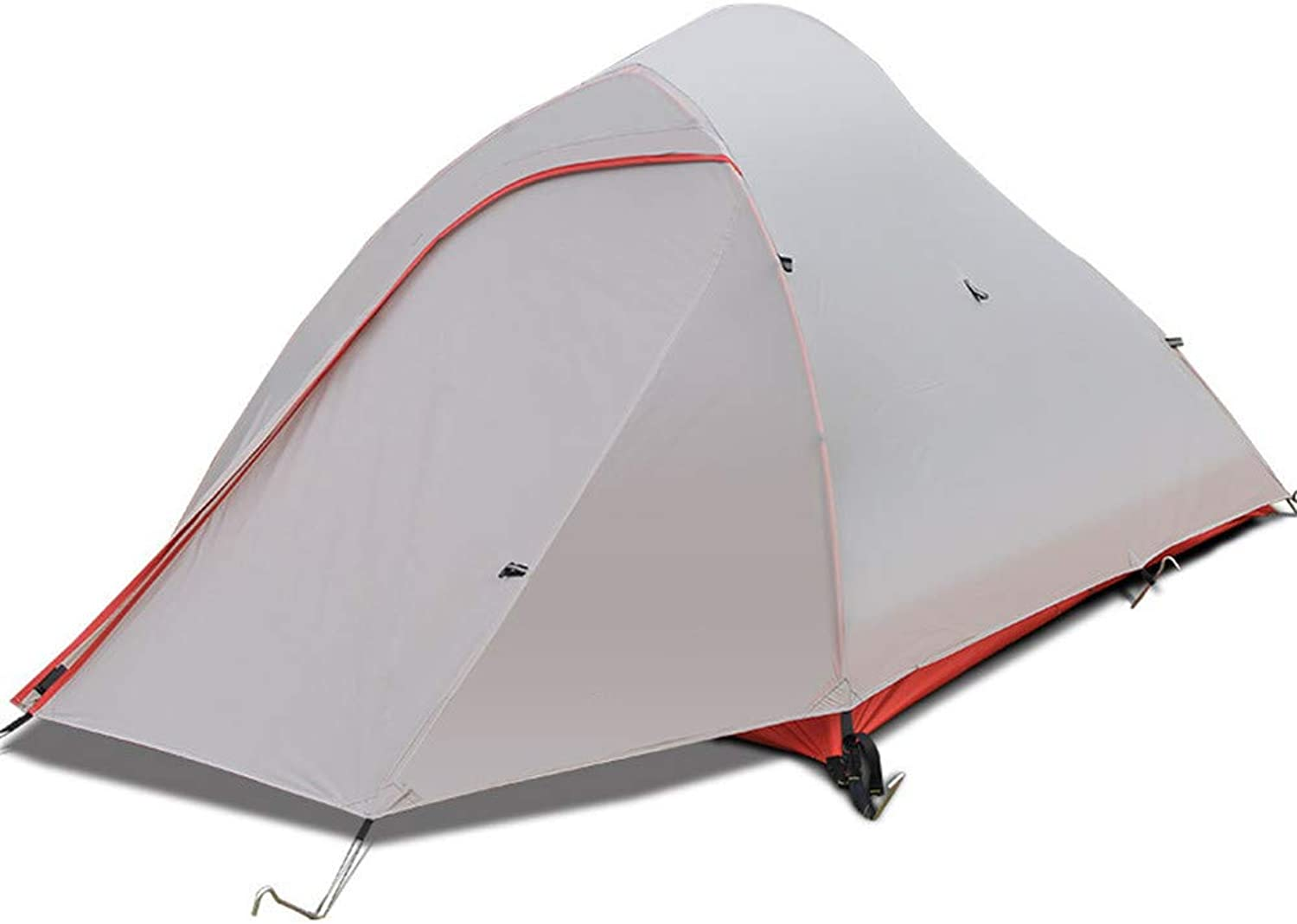 Camping Tent,Outdoor Tent for 2 Persons Double Layer Tent Waterproof Visor,for Camping Beach Hiking Fishing