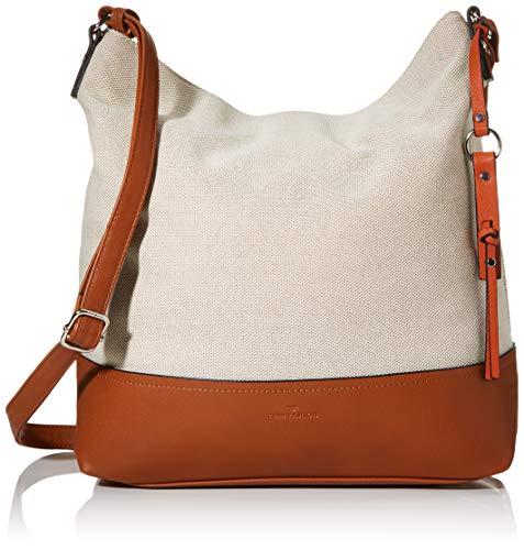 TOM TAILOR Damen Taschen & Geldbörsen Hobo-Tasche MILANO mixed beige,OneSize
