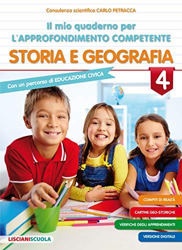 Il Mio Quaderno Per L'Approfondimento competente Storia E geografia 4