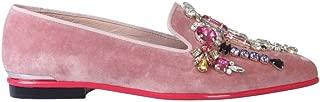 Alexander McQueen Luxury Fashion Womens 586419W4IKZ9969 Pink Loafers | Fall Winter 19