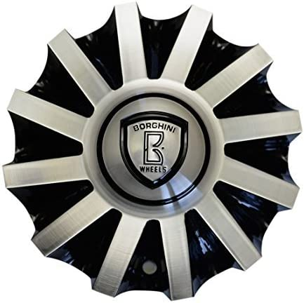 Borghini B19 Center Cap Serial Black Selling rankings Number Max 52% OFF and CSB19-2A Machine