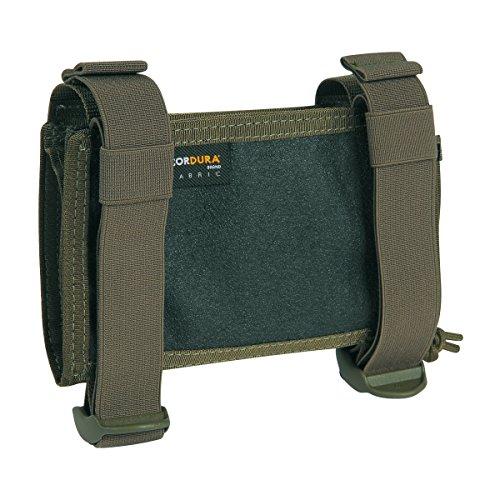 Tasmanian Tiger TT Wrist Office - Aufklappbare Falttasche für Armgelenk Faltbare Unterarm-Tasche mit Klarsichtfächern für Karten, Oliv