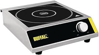 Buffalo Plaque de cuissonà induction en acier inoxydable 3000 W 100 x 330 x 430 mm