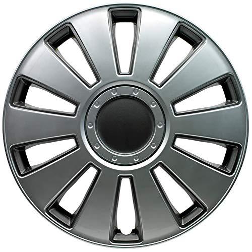 Jeu d'enjoliveurs Pennsylvania 16-inch argent/gris charcoal