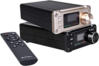 SMSL SA-50 PLUS 50WX2 HIFI Amplifier/DAC/Music Player w/ Remote Control,Digital Power Amplifier,TAS5766M, OLED Display, US...
