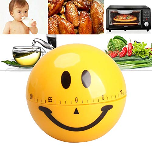 Zeitmesser Küche lächelndes Gesicht Maschinerie Timer 60 Minuten
