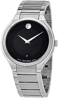 Movado Quadro Black Dial Men's Watch 0607393