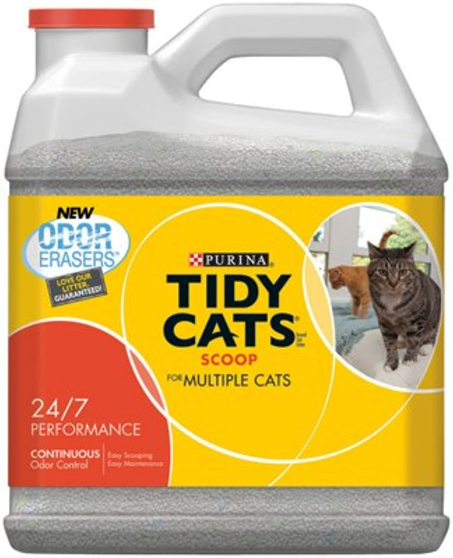 American Distribution & Mfg Co 2 Packs Tid20LB 24 7 Cat Litter