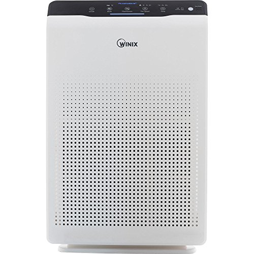Winix Air Cleaner C555 Features Smart Sensors, 5-Stage Filtration System and PlasmaWave Technology, Great for any Rooms