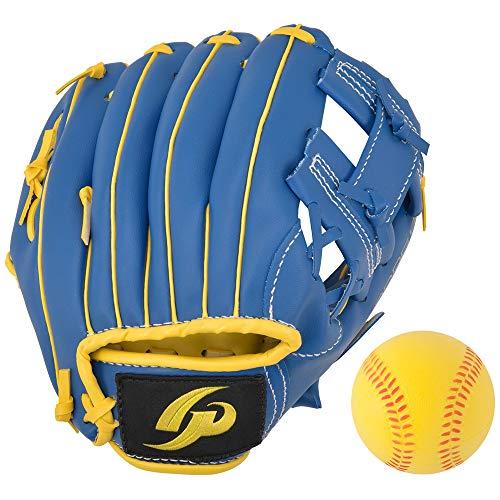 GP (ジーピー) 野球 グローブ 子供用 8インチ右投げ柔らかいボール付き 36944