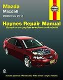 Mazda6 (03-13) Haynes Repair Manual