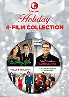 Lifetime Holiday 4-Film Collection: (The Christmas Consultant/Holiday Spin/The March Sisters At Christmas/Holly's Holiday)