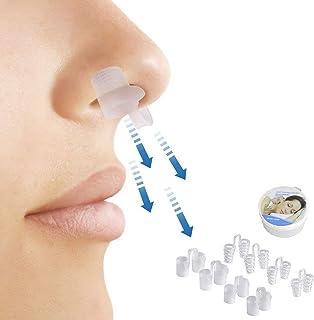 Snoring Solution, 8 Nasal Dilators Silicone Nasal Clips, Anti Snoring Devices,Snoring Solution,Comfortable Nasal Sleeping ...