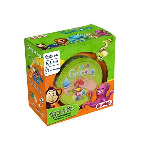 Grabolo junior, juego educativo para desarrollar observación y lógica, juego en familia...