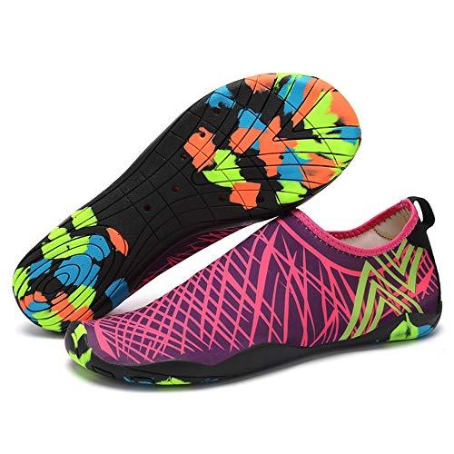 Lixada Escarpines Zapatos de Agua Secado Rápido Ligero Zapatos Atléticos para Playa Kayak Canotaje Senderismo Surf
