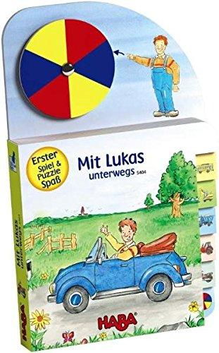 Mit Lukas unterwegs: Erster Spiel- und Puzzle-Spaß
