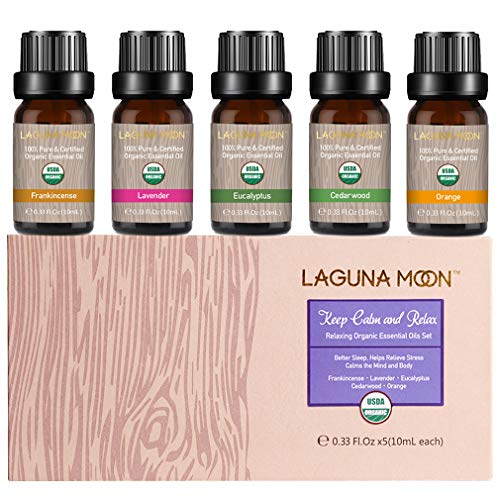 Essential Oils Top 5 USDA Certified Organic