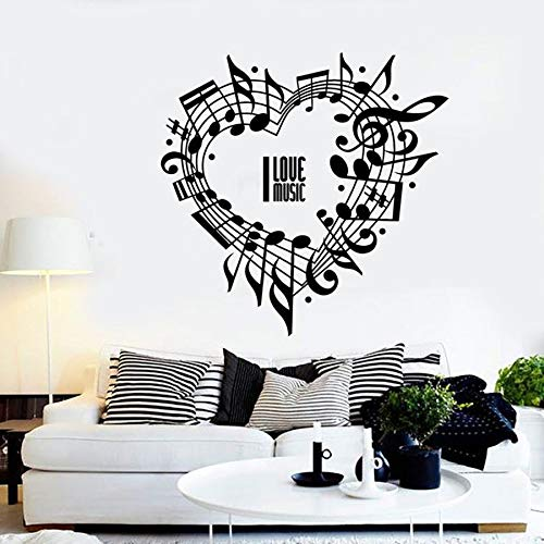 Tianpengyuanshuai fotobehang notities familie slaapkamer woonkamer muziekkamer concert wanddecoratie vinyl muursticker