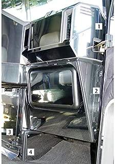 End Dash Trim Fits Freightliner FLD & Classic - Passenger Side