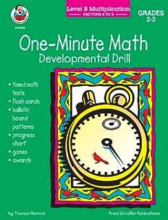 One Minute Math Level B Multiplication Factors 6 - 9