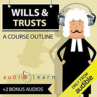Wills and Trusts AudioLearn audiobook cover art