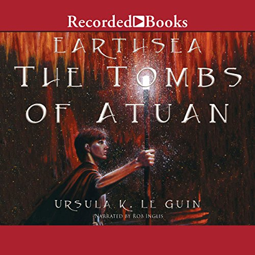 The Tombs of Atuan audiobook cover art