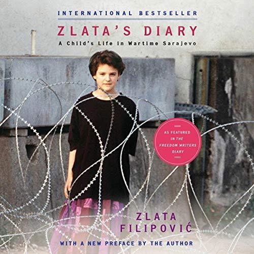 Zlata's Diary audiobook cover art