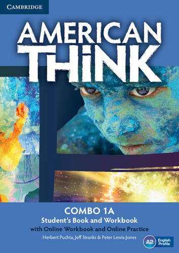 American Think 1 - Combo a With Online Workbook and Online Practice