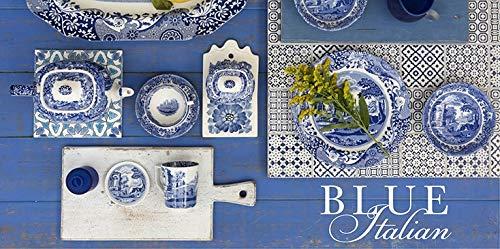 Service de Vaisselle 12 Pièces Spode Bleu Italien - 1