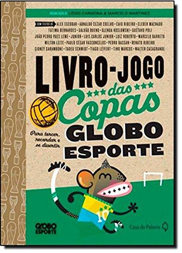 Livro Jogo Das Copas Para Torcer, Recordar E Se Divertir