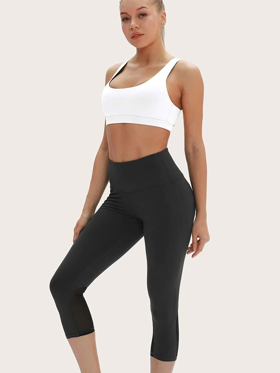 NXWD Sports Bras for Women Cut Out Back Solid Sports Bra Running
