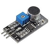 Detector de sonido Sensor acústico LM393 Módulo Micrófono
