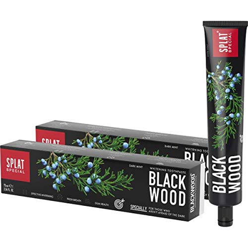 2 x Splat Blackwood Whitening Zahnpasta 75ml