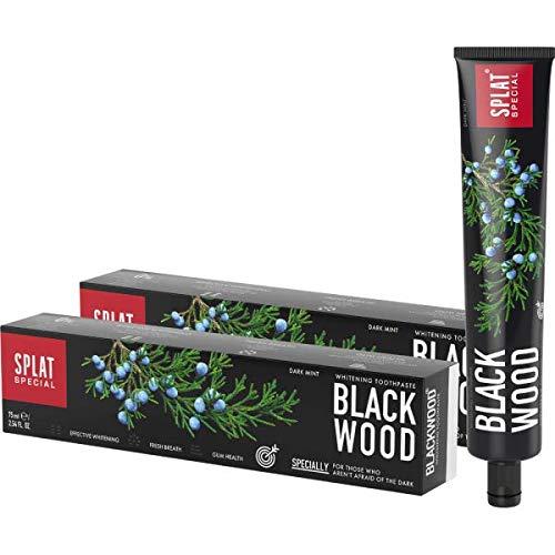 2 x Splat Blackwood Whitening Zahnpasta 75ml