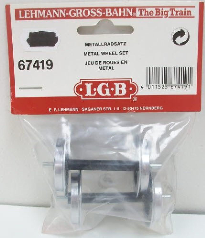 Lgb 67419 2 Metal Wheels 3019