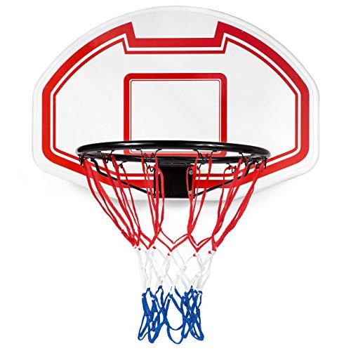 BESTIF Basketball Backboard Basketballkorb Outdoor Indoor Kinder | Basketballbrett inklusive Korb Netz