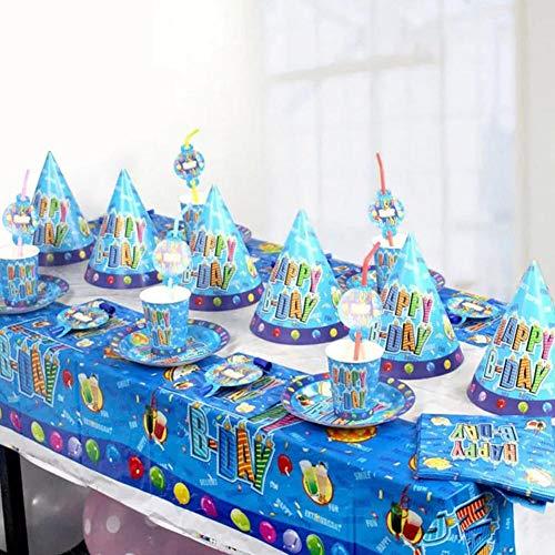 Rainnao Party Verjaardag 180 108cm tafelkleed wegwerp verjaardagsdoek cartoon party party bar