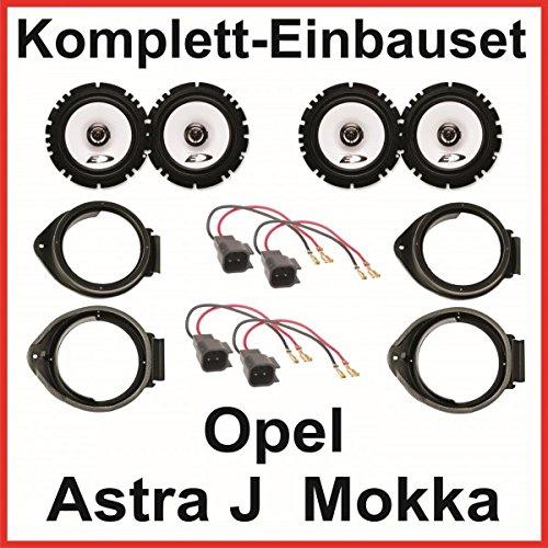 Lautsprecher Opel Astra J Opel Mokka Alpine SXE-1725S 16,5 cm vorne und hinten