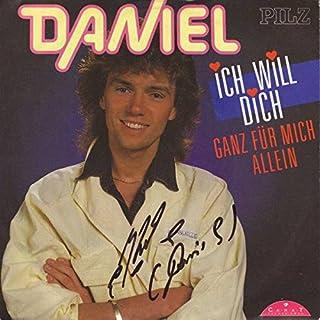Daniel - Ich Will Dich Ganz Für Mich Allein - Carat Record GmbH - 44 0003-7, Pilz - 44 0003-7