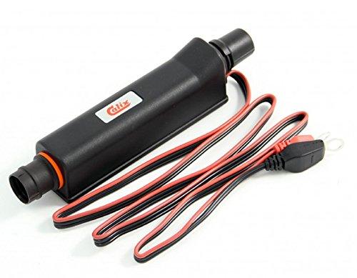 Calix Erhaltungsladegerät / Batterie-Ladegerät Festeinbau 12V / 2A, inkl. Einbau- & Anschlußkabel (Kabel-Länge Motorraum: 1m* - (MKMS1025) ) - BC60KIT1025