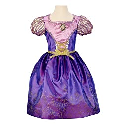 Disney Princess Disney Princess Enchanted Evening Dress: Rapunzel Kids Costume from Amazon Prime