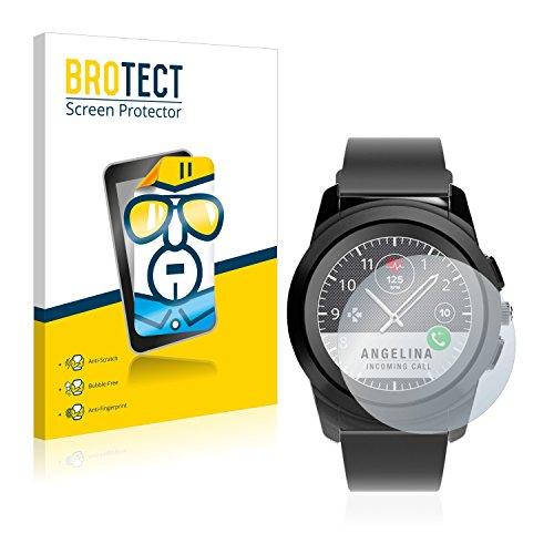 BROTECT Schutzfolie kompatibel mit MyKronoz ZeTime Regular (44 mm) (2 Stück) klare Bildschirmschutz-Folie