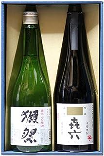 【ありがとうございます(シール)+ギフト箱+ラッピング付き】日本酒 獺祭(だっさい)純米大吟醸 磨き50 + 芋焼酎 きろく 720ml 旭酒造 百年の孤独の蔵製造 黒木本店